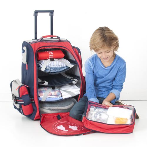 Bolsa De Rodinha Infantil Pequena : Malas para pequenos viajantes com feitas